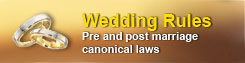 Wedding Canonical Rules
